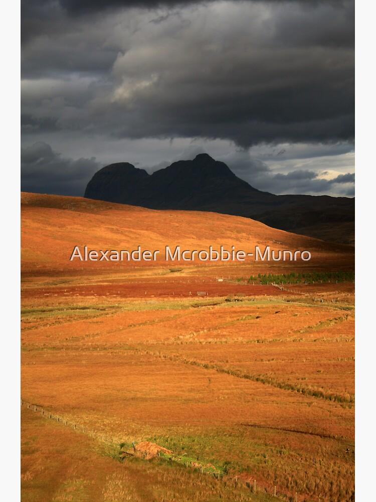 Suilven  Shadow by Alexanderargyll