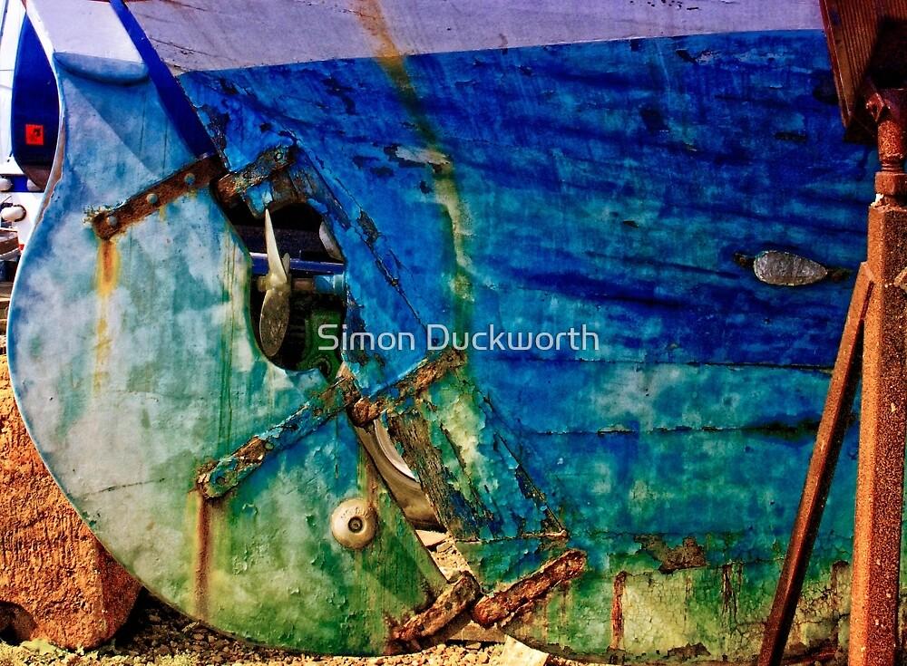 Boat Repair by Simon Duckworth