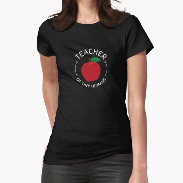 Preschool kindergarten educator gift Fitted T-Shirt