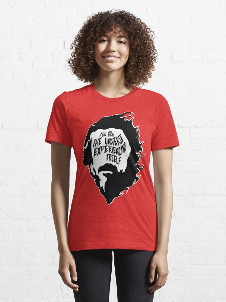 Alternate view of Alan Watts You Are the Universe Experiencing Itself Essential T-Shirt