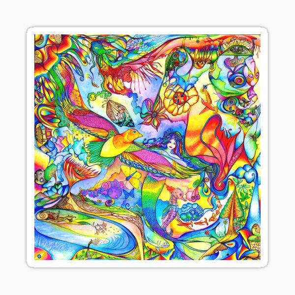 Mermaid Towne Sticker