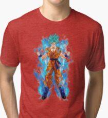 Camiseta de tejido mixto Goku Super saiyan god a8e5d1888ea05