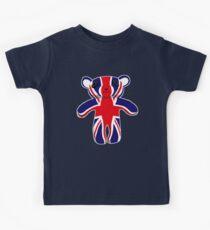 Union Jack Teddy Bear Kids Tee