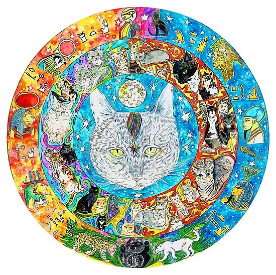 «el mandala CAT» de DiNOandDARTart