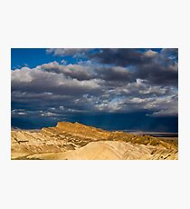 Sunlight over Death Valley Photographic Print