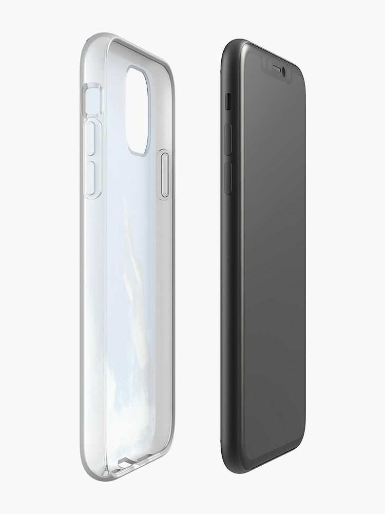 Coque iPhone «À l'envers», par zari2019