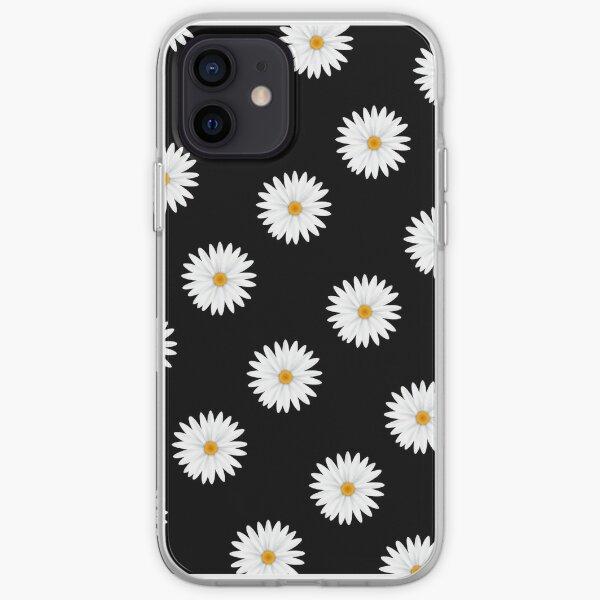 Cas de téléphone d'iPhone / Android - cas de téléphone de fleur de marguerite Coque souple iPhone