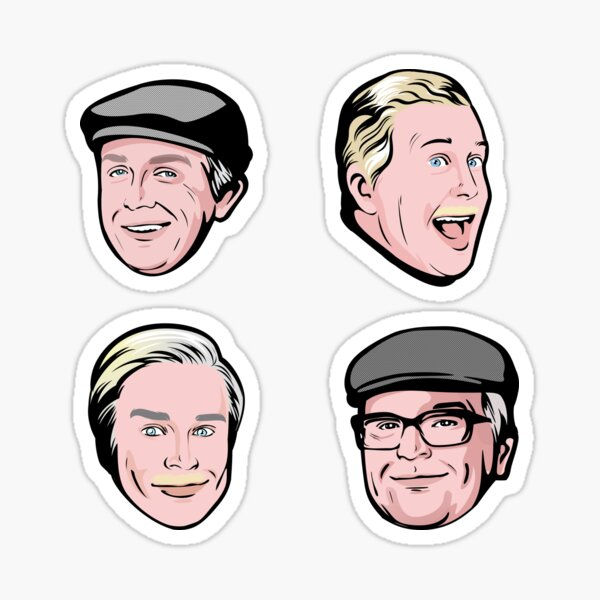 Still Game Scotland Stickers Sticker