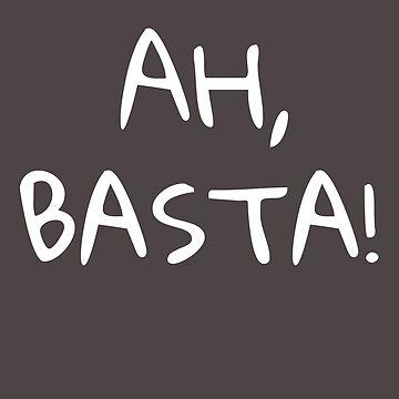 Ah, Basta! Funny Filipino T Shirt by BeatusRED