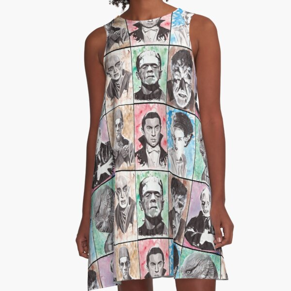 Classic Monster Collection A-Line Dress