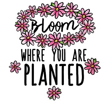 Bloom where you are planted  by Boogiemonst