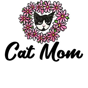 Cat Mom by Boogiemonst