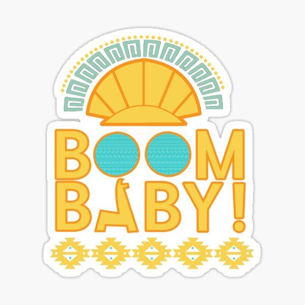 Boom Baby! Tee Sticker