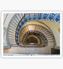 Somerset House staircase, London Sticker