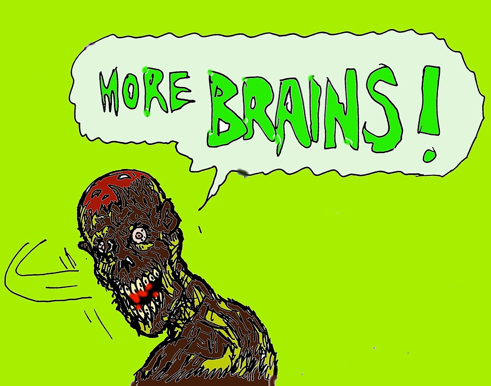 Brains ! by mattycarpets