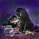 Newfies and the magic of reading by Patricia Reeder Eubank