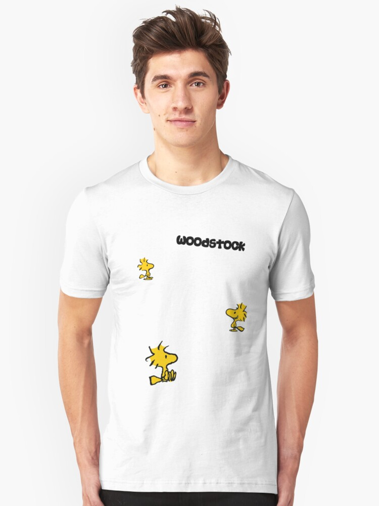 For all those Woodstock lovers Unisex T-Shirt Front