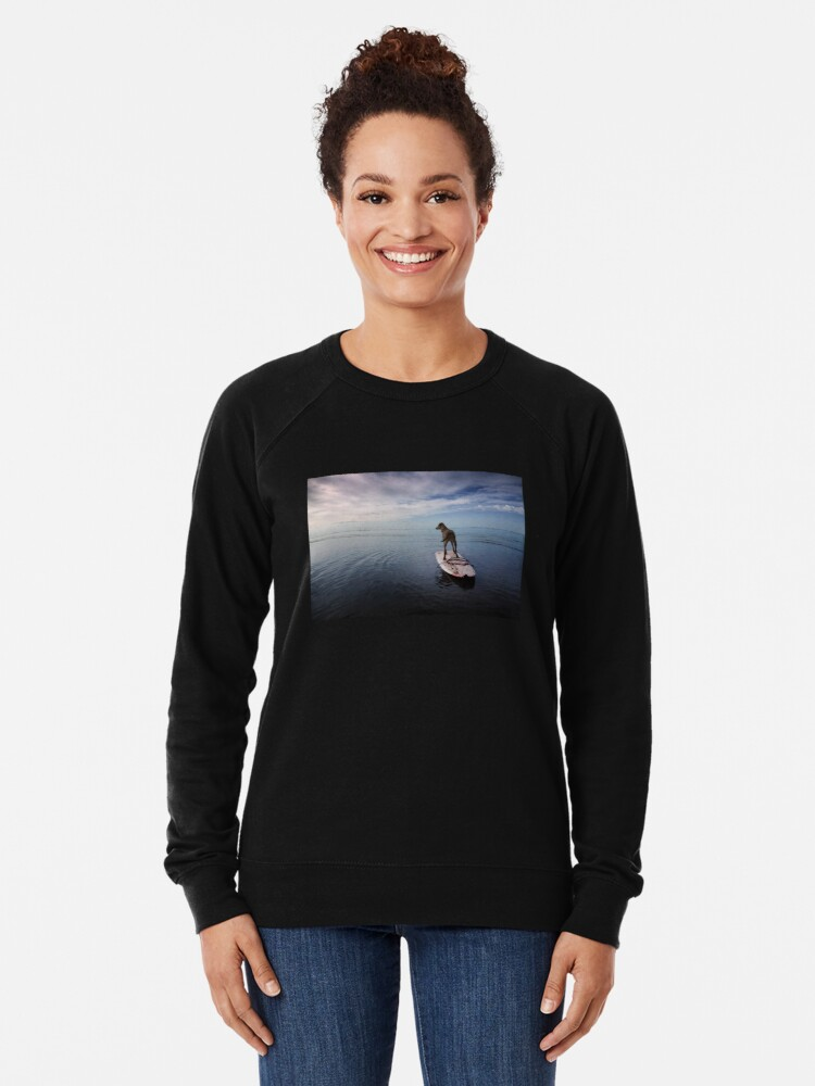 Alternate view of Owning the day Lightweight Sweatshirt