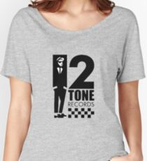 Two tone Women's Relaxed Fit T-Shirt