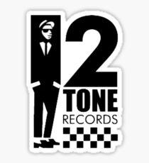 Two tone Sticker