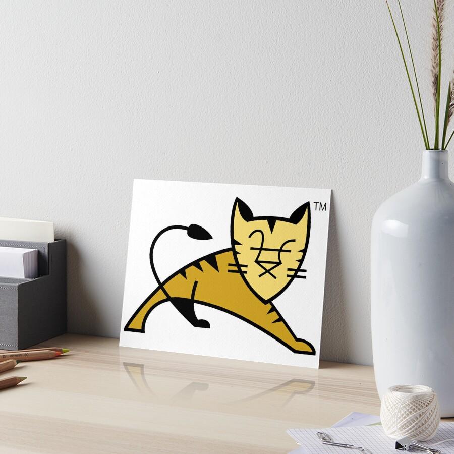 Apache Tomcat Art Board Print