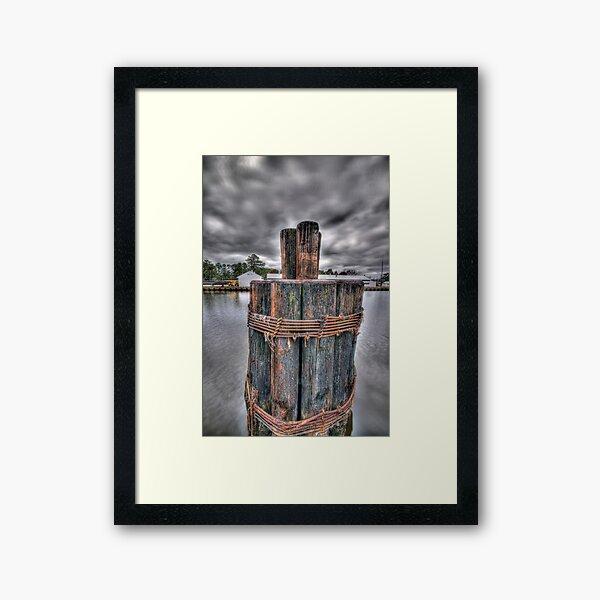 Holding Strong Framed Art Print