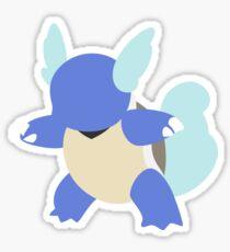 Kanto Starters - Wartortle Sticker