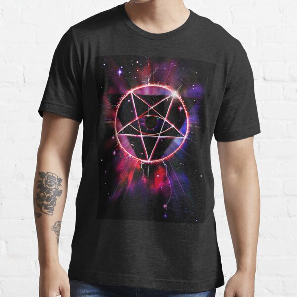 Space Demon 2049 - Evil Synthwave Sigil Essential T-Shirt