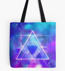 Space Vector 3 - Synth Galactic Vaporwave Tote Bag