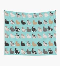 Free The Bunnies Wall Tapestry