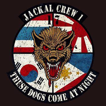 USAF 17th Squadron Jackal by Lidra