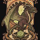 «Dragón oscuro» de Letter-Q