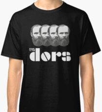 Dostoevsky And The Doors Mashup Classic T-Shirt