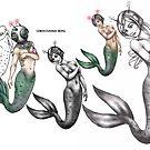 mermaid invader by Xtianna