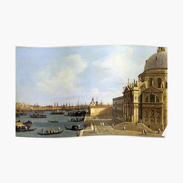 Canaletto Venice Santa Maria della Salute Poster