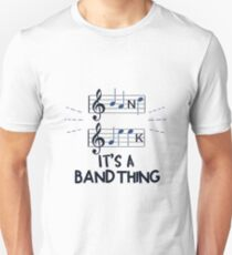 MUSIC Band Geek It's A Band Thing Gift Unisex T-Shirt