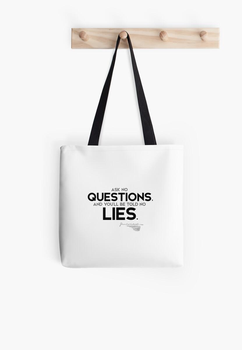 no questions, no lies - charles dickens by razvandrc