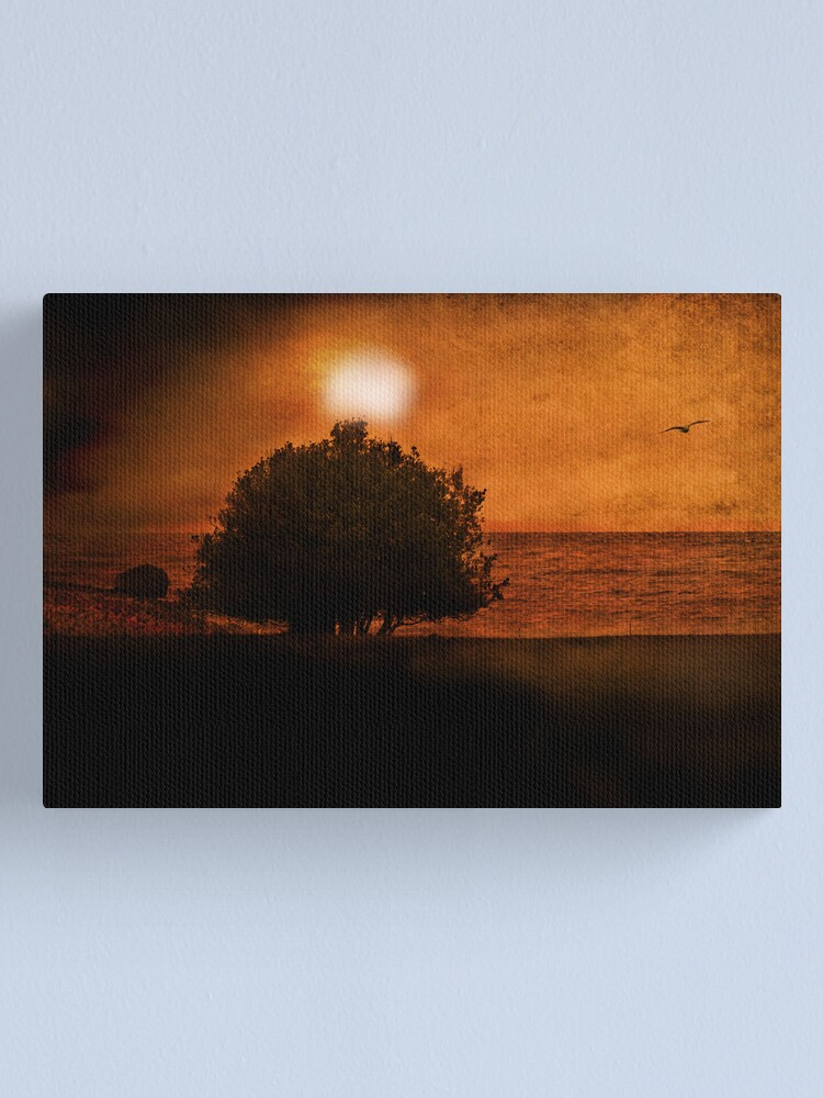 Alternate view of Out To Sea Canvas Print