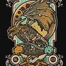 «Zombie Dragon» de Letter-Q