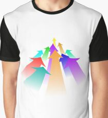 Colorful arrows  Graphic T-Shirt