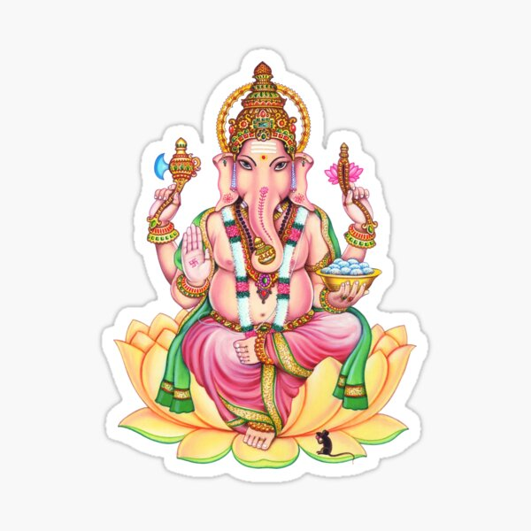 Ganesha: Remover of Obstacles  Sticker