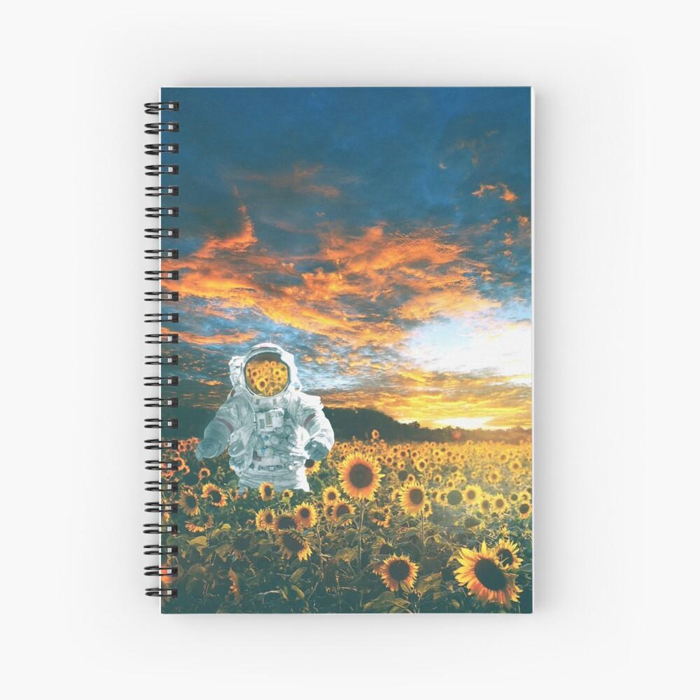 In a galaxy far, far away Spiral Notebook