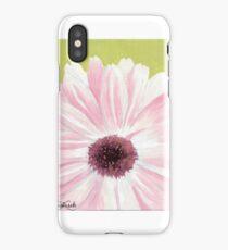 Open Pink Sun Flower iPhone Case