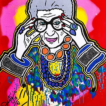 The Iris Apfel Merchandise Collection by Dusty O by DustyO