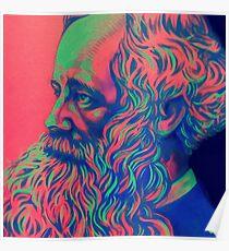 James Clerk Maxwell Poster