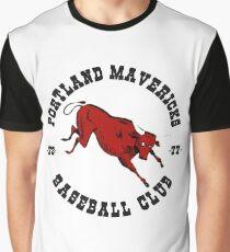 Portland Mavericks Baseball Club Shirt Retro Vintage 70s TBT Graphic T-Shirt