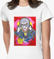 The Iris Apfel Merchandise Collection by Dusty O Women's Fitted T-Shirt