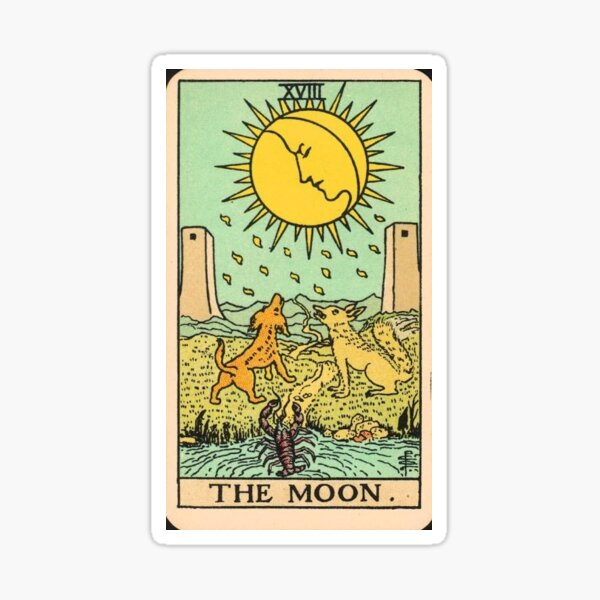 TAROT MOON Sticker