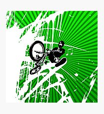 BMX Pop Art Photographic Print