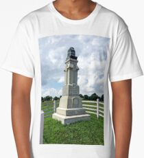 Gettysburg, Ohio 8th Monument Long T-Shirt